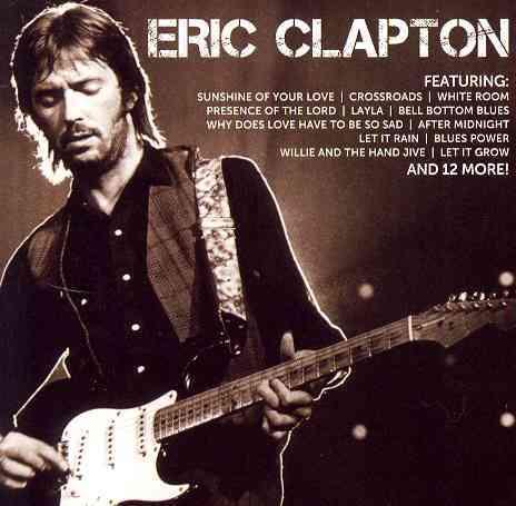 ICON:ERIC CLAPTON BY CLAPTON,ERIC (CD)